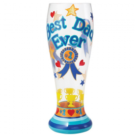 Best Dad Ever Beer Glass
