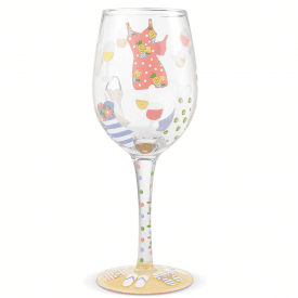 Cabana Cute Wine Glass