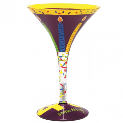 Forty Something Martini Glass