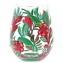 Hummingbird Stemless Glass, Tumbler