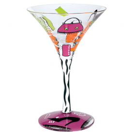Shopaholic Too Martini Glass