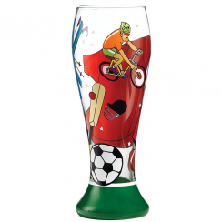 Sportsman of the Year Beer Glass