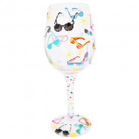Sunglass Cooler Wine Glass