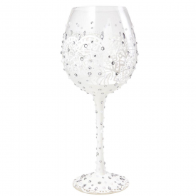 Superbling Bride Extra Large Wine Glass