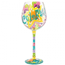 Superbling Celebrate Extra Large Wine Glass