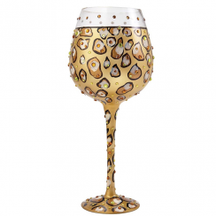 Superbling Leopard Extra Large Wine Glass