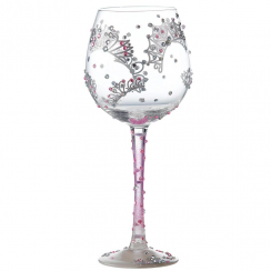 Superbling Princess Wine Glass