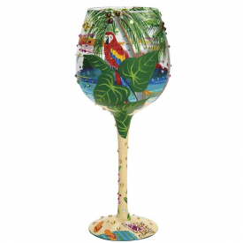 Superbling Tropical Dream Large Wine Glass
