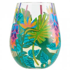 Tropical Vibes Glass