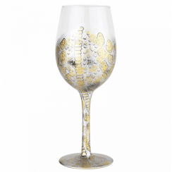 Venom Hand Painted Wine Glass
