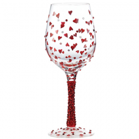 Wine Glass Red Hot
