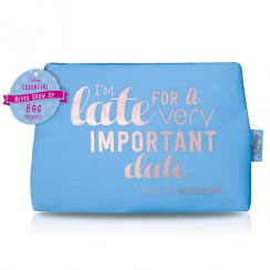 Disney I'm Late for an important date, Make up Bag
