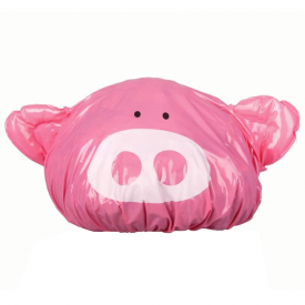 Piggy Pink Fun Shower Cap
