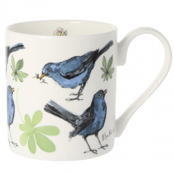 5 Blackbird Bone China Mug