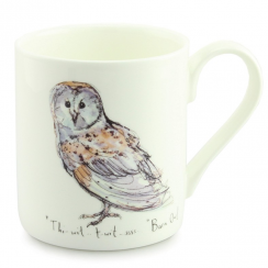 Barn Owl China Mug