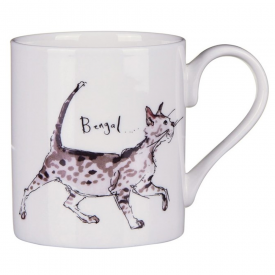 Bengal Cat Bone China Mug