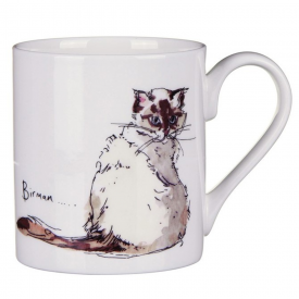 Birman Cat Bone China Mug