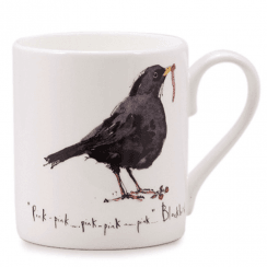 Blackbird Bone China Mug