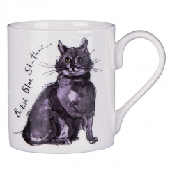 British Blue Cat Mug