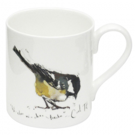 Coal Tit Bone China Mug