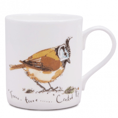 Crested Tit Bone China Mug