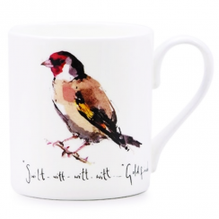 Goldfinch Bone China Mug