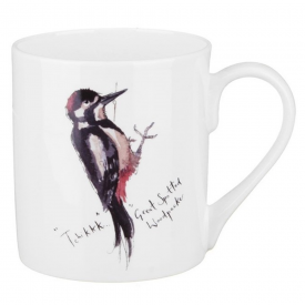 Great Woodpecker Bone China Mug