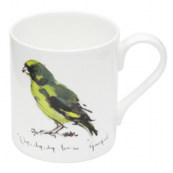 Greenfinch Bone China Mug