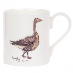 Greylag Goose Bone China Mug