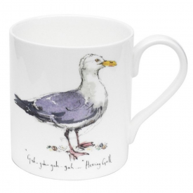 Herring Gull Bone China Mug