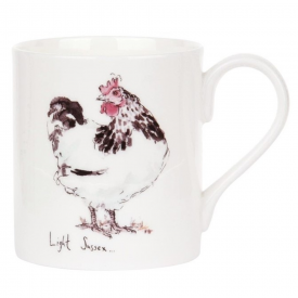Light Sussex Bone China Mug