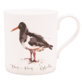 Oystercatcher Bone China Mug