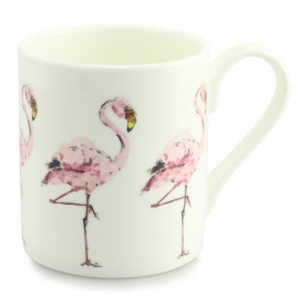 Pink Flamingo Repeat Mug