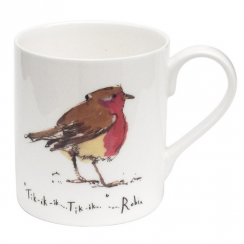Robin Bone China Mug
