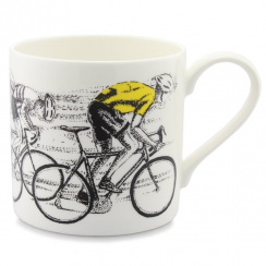 Picturemaps, Sprint Finish Yellow Jersey Mug