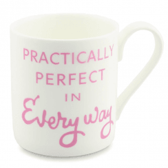 Practically Perfect Mug, Pink