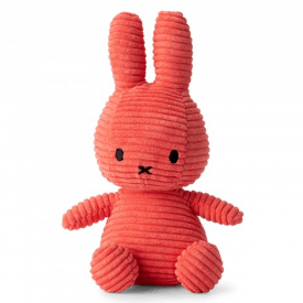 Bunny Corduroy Soft Toy, Bubblegum Pink