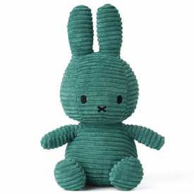 Bunny Corduroy Soft Toy, Green