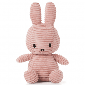 Bunny Corduroy Soft Toy, Pink