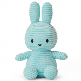 Bunny Corduroy Soft Toy, Turquoise