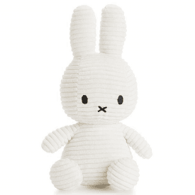 Bunny Corduroy Soft Toy, White