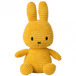 Bunny Corduroy Soft Toy, Yellow