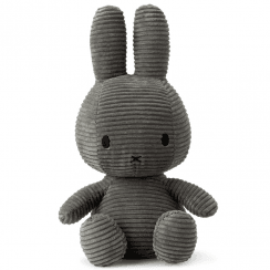 Large Bunny Corduroy Soft Toy, Grey