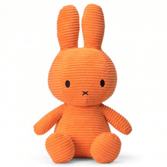 Large Bunny Corduroy Soft Toy, Orange
