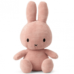Large Bunny Corduroy Soft Toy, Pink