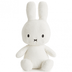 Large Bunny Corduroy Soft Toy, White