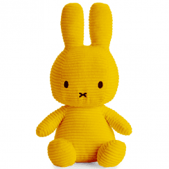 Large Bunny Corduroy Soft Toy, Yellow