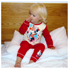 Minnie Mouse Red & Cream Pyjamas 12 Months to 4 Years