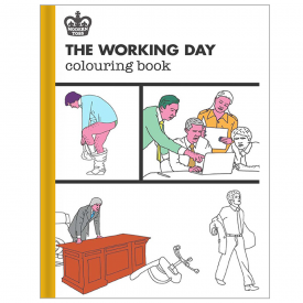 Modern Toss, the Working Day Colouring Book