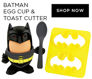 Paladone Batman Egg Cup & Toast Cutter